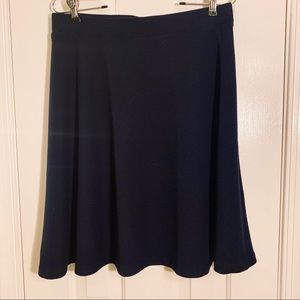Talbots skirt navy blue sz 8P - New with tags